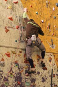 Førstemands klatring også kaldet Lead klatring