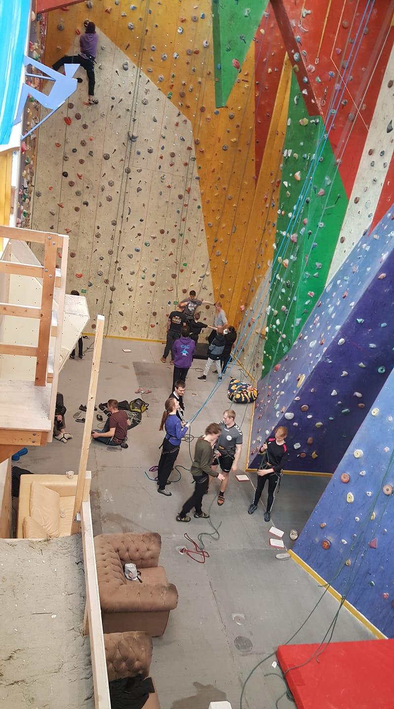 Aktivitet i Odense klatreklub