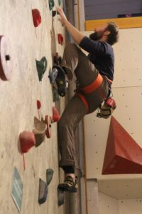 Topreb klatring i odense klatrehal