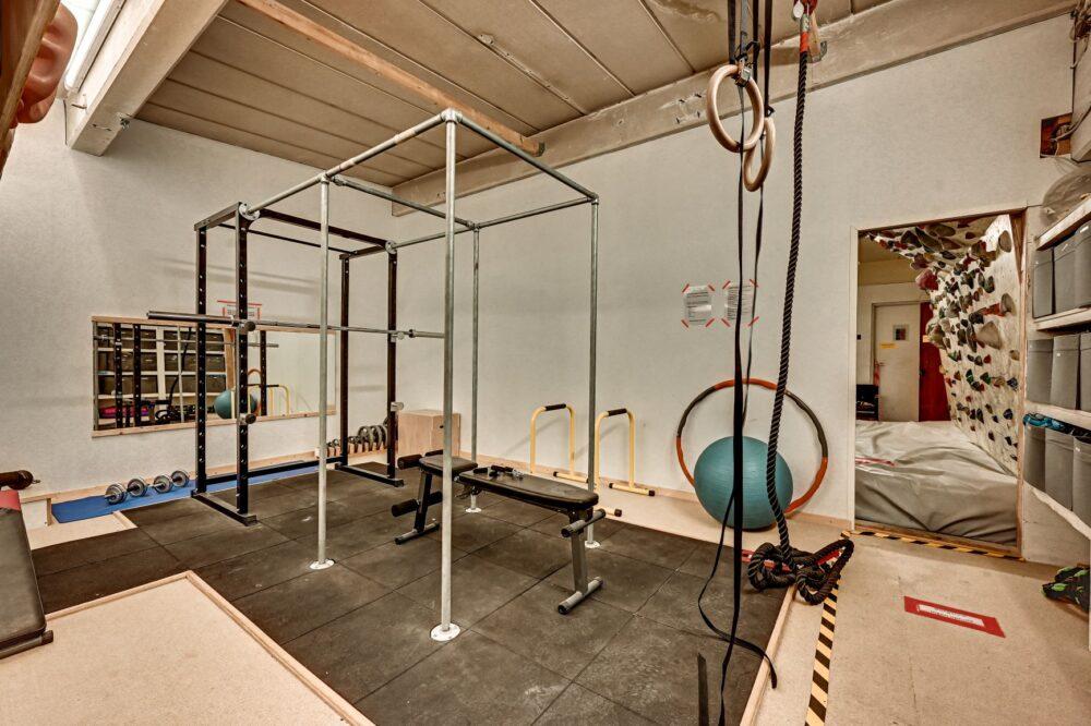 Fitness og træning i odenseklatreklub
